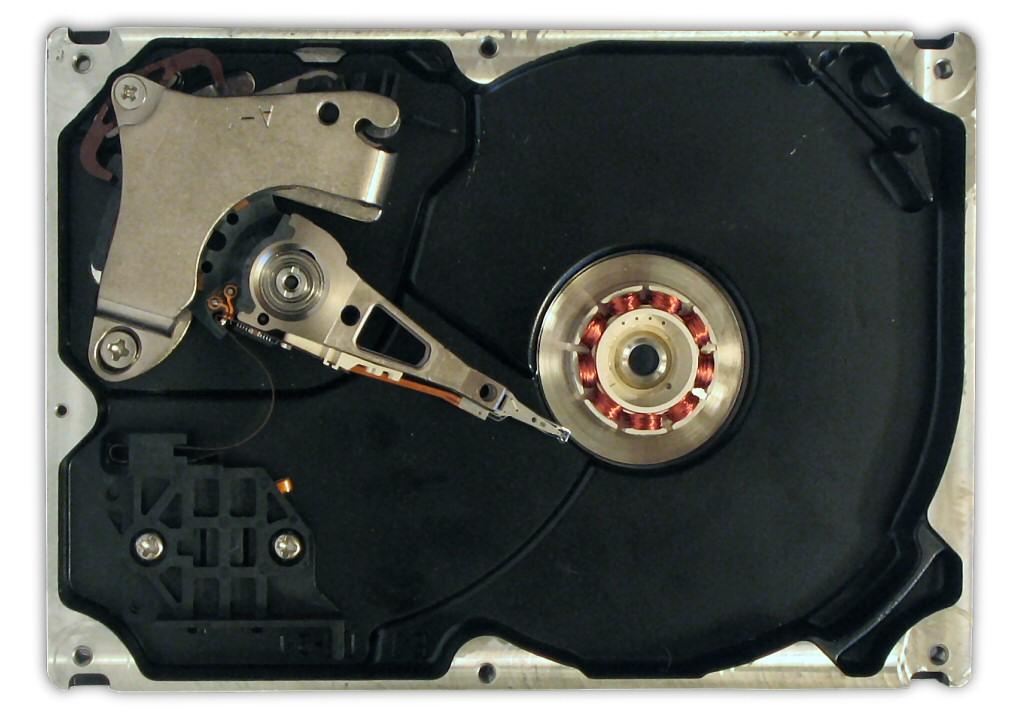 Okvare trdega diska
